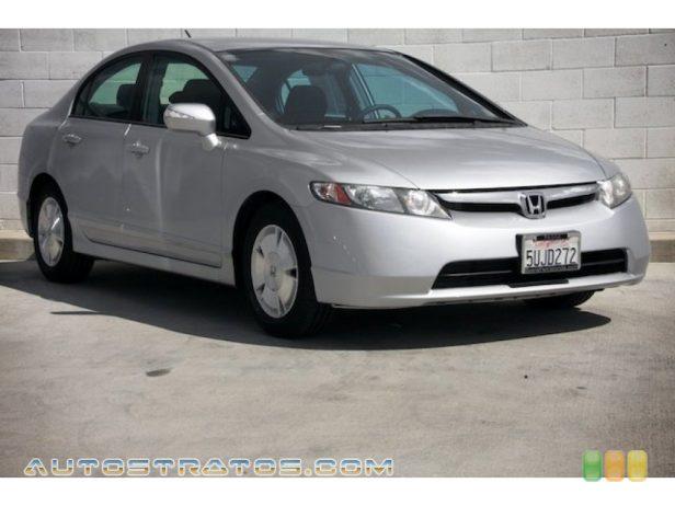 2006 Honda Civic Hybrid Sedan 1.3L SOHC 8V i-VTEC 4 Cylinder IMA Gasoline/Electric Hybrid CVT Automatic