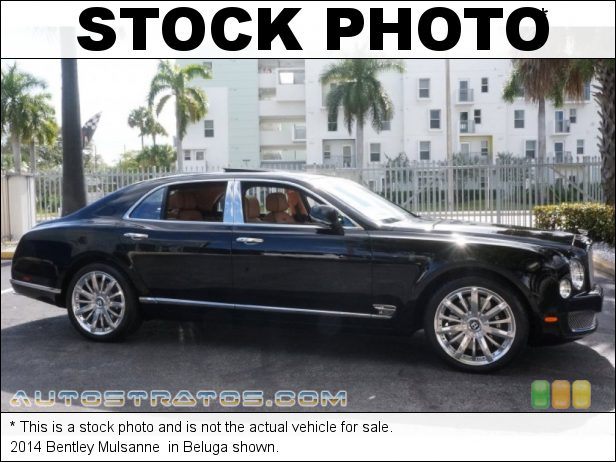 Stock photo for this 2014 Bentley Mulsanne  6.75 Liter Twin-Turbocharged OHV 16-Valve VVT V8 8 Speed Automatic