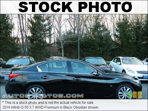 Stock photo for this 2014 Infiniti Q 3.7 AWD 3.7 Liter DOHC 24-Valve CVTCS VVEL V6 7 Speed ASC Automatic
