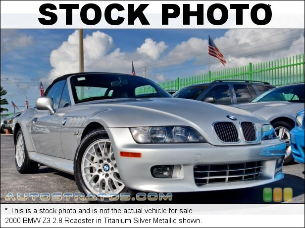 Stock photo for this 2000 BMW Z3 2.8 Roadster 2.8 Liter DOHC 24-Valve Inline 6 Cylinder 5 Speed Manual