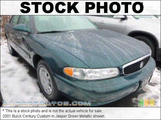 Stock photo for this 2001 Buick Century Custom 3.1 Liter OHV 12-Valve V6 4 Speed Automatic