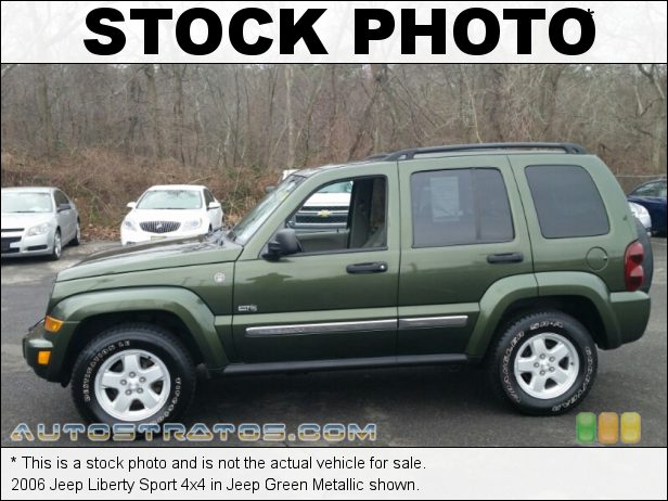 Stock photo for this 2006 Jeep Liberty Sport 4x4 3.7 Liter SOHC 12V Powertech V6 6 Speed Manual