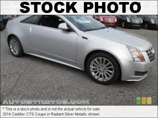 Stock photo for this 2014 Cadillac CTS Coupe 3.6 Liter DI DOHC 24-Valve VVT V6 6 Speed Automatic
