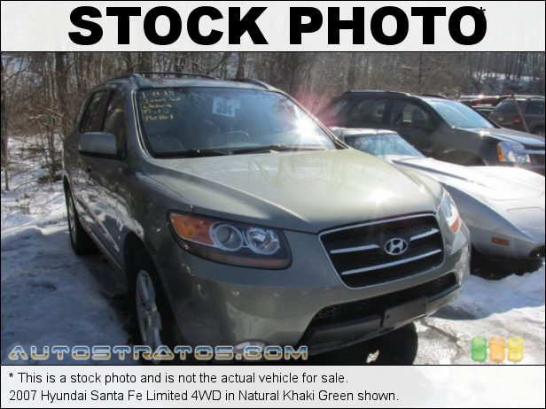 Stock photo for this 2007 Hyundai Santa Fe 4WD 3.3 Liter DOHC 24 Valve V6 5 Speed Shiftronic Automatic