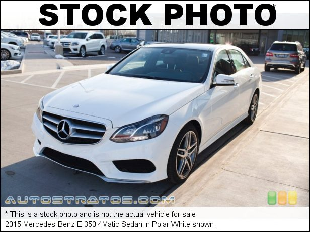 Stock photo for this 2015 Mercedes-Benz E 350 4Matic Sedan 3.5 Liter DI DOHC 24-Valve VVT V6 7 Speed Automatic
