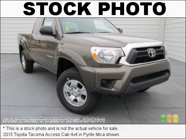 Stock photo for this 2015 Toyota Tacoma Access Cab 4x4 2.7 Liter DOHC 16-Valve VVT-i 4 Cylinder 5 Speed Manual