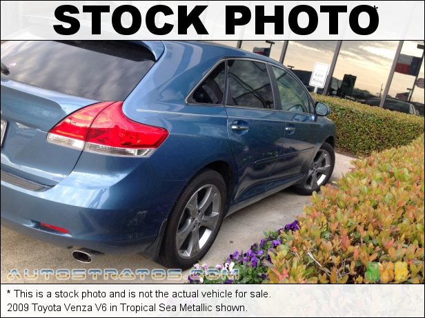 Stock photo for this 2009 Toyota Venza V6 3.5 Liter DOHC 24-Valve Dual VVT-i V6 6 Speed ECT-i Automatic