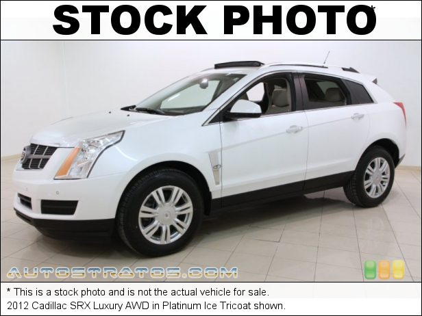 Stock photo for this 2012 Cadillac SRX Luxury AWD 3.6 Liter DI DOHC 24-Valve VVT V6 6 Speed Automatic