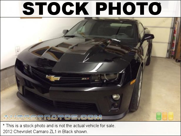 Stock photo for this 2012 Chevrolet Camaro ZL1 6.2 Liter Eaton Supercharged OHV 16-Valve LSA V8 6 Speed Manual