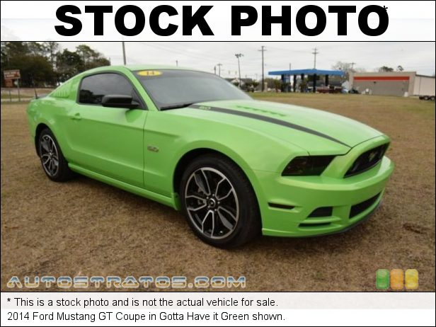 Stock photo for this 2014 Ford Mustang GT Coupe 5.0 Liter DOHC 32-Valve Ti-VCT V8 6 Speed Automatic