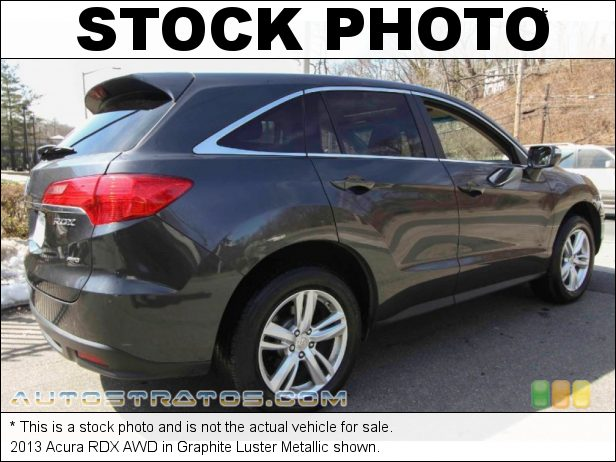 Stock photo for this 2014 Acura RDX AWD 3.5 Liter SOHC 24-Valve i-VTEC V6 6 Speed Sequential SportShift Automatic