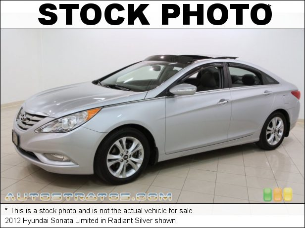 Stock photo for this 2012 Hyundai Sonata Limited 2.4 Liter GDI DOHC 16-Valve D-CVVT 4 Cylinder 6 Speed Shiftronic Automatic