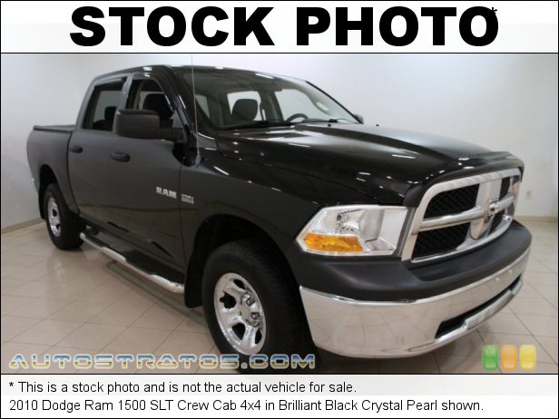 Stock photo for this 2010 Dodge Ram 1500 Crew Cab 4x4 5.7 Liter HEMI OHV 16-Valve VVT MDS V8 5 Speed Automatic