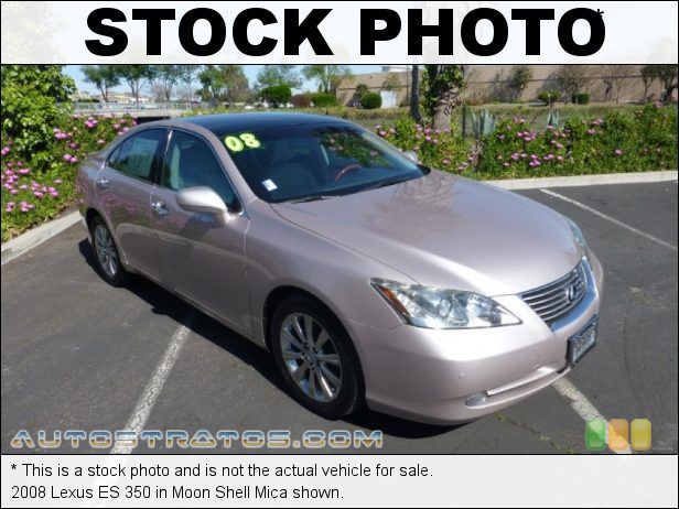 Stock photo for this 2008 Lexus ES 350 3.5 Liter DOHC 24-Valve VVT V6 6 Speed Automatic