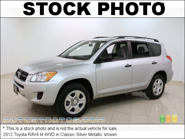 Stock photo for this 2012 Toyota RAV4 I4 4WD 2.5 Liter DOHC 16-Valve Dual VVT-i 4 Cylinder 4 Speed ECT-i Automatic