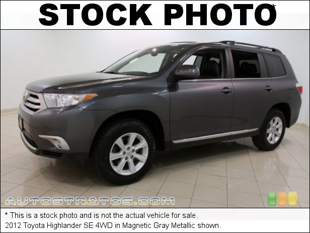 Stock photo for this 2012 Toyota Highlander 4WD 3.5 Liter DOHC 24-Valve Dual VVT-i V6 5 Speed ECT-i Automatic