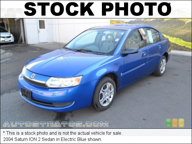 Stock photo for this 2004 Saturn ION 2 Sedan 2.2 Liter DOHC 16 Valve 4 Cylinder 5 Speed Automatic