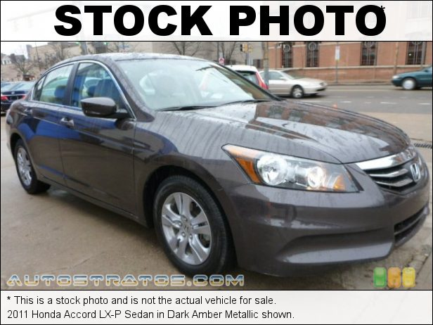 Stock photo for this 2011 Honda Accord LX-P Sedan 2.4 Liter DOHC 16-Valve i-VTEC 4 Cylinder 5 Speed Automatic