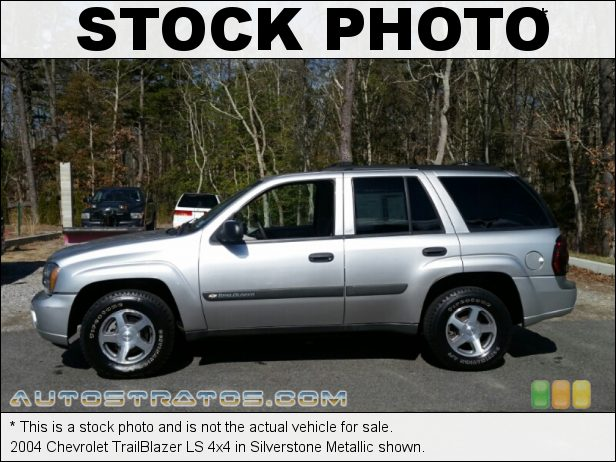 Stock photo for this 2004 Chevrolet TrailBlazer LS 4x4 4.2L DOHC 24V Vortec Inline 6 Cylinder 4 Speed Automatic
