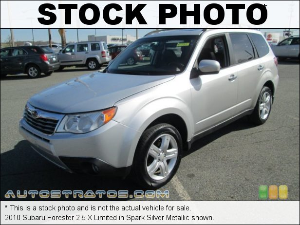 Stock photo for this 2010 Subaru Forester 2.5 X Limited 2.5 Liter SOHC 16-Valve VVT Flat 4 Cylinder 4 Speed Sportshift Automatic