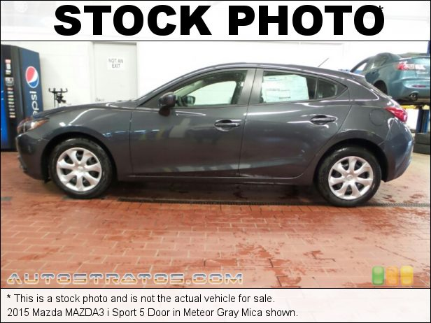 Stock photo for this 2016 Mazda MAZDA3 i Sport 4 Door 2.0 Liter SKYACTIV-G DI DOHC 16-Valve VVT 4 Cylinder SKYACTIV-Drive 6 Speed Automatic