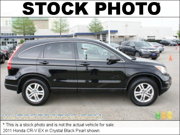 Stock photo for this 2011 Honda CR-V EX 2.4 Liter DOHC 16-Valve i-VTEC 4 Cylinder 5 Speed Automatic