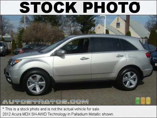 Stock photo for this 2012 Acura MDX SH-AWD Technology 3.7 Liter SOHC 24-Valve VTEC V6 6 Speed Sequential SportShift Automatic