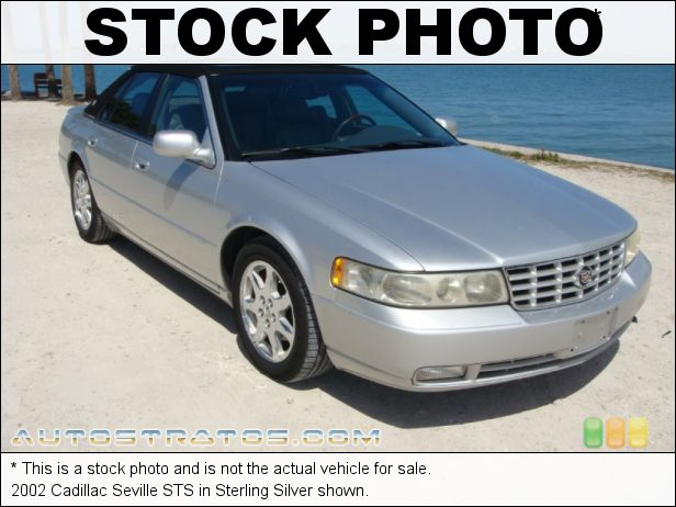 Stock photo for this 2002 Cadillac Seville STS 4.6 Liter DOHC 32-Valve Northstar V8 4 Speed Automatic