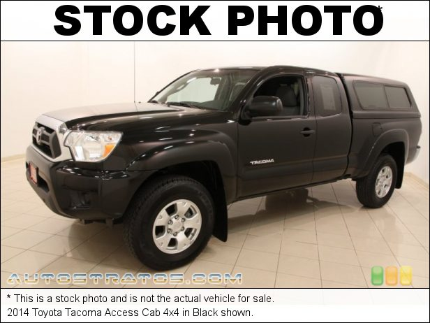 Stock photo for this 2014 Toyota Tacoma Access Cab 4x4 2.7 Liter DOHC 16-Valve VVT-i 4 Cylinder 4 Speed ECT-i Automatic