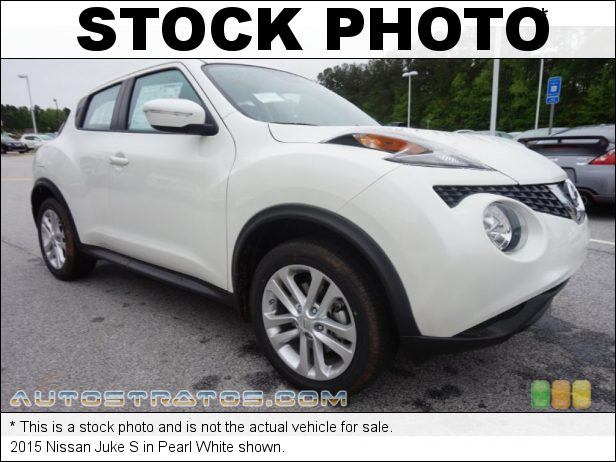 Stock photo for this 2015 Nissan Juke S 1.6 Liter DIG Turbocharged DOHC 16-Valve CVTCS 4 Cylinder Xtronic CVT Automatic