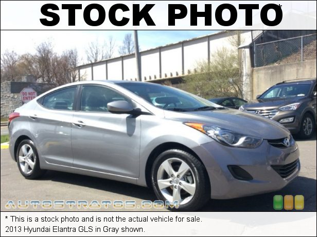 Stock photo for this 2013 Hyundai Elantra GLS 1.8 Liter DOHC 16-Valve D-CVVT 4 Cylinder 6 Speed Manual