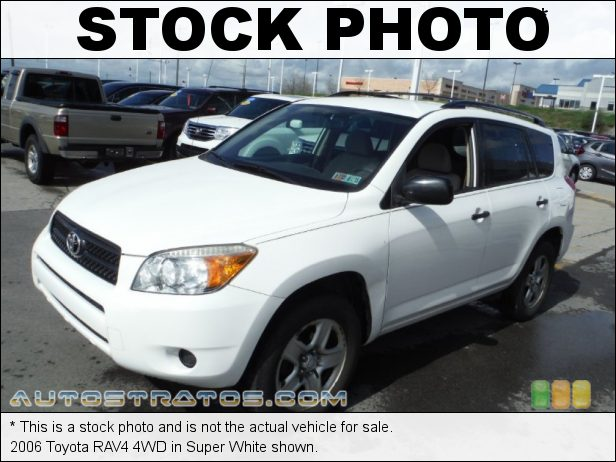Stock photo for this 2006 Toyota RAV4 4WD 2.4 Liter DOHC 16V VVT 4 Cylinder 4 Speed Automatic