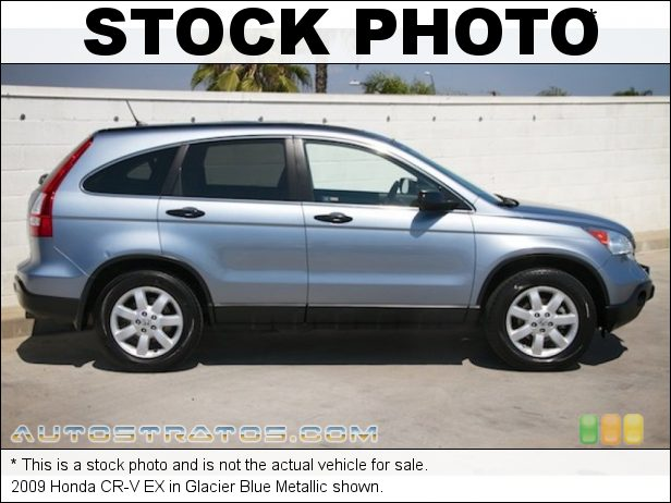 Stock photo for this 2009 Honda CR-V EX 2.4 Liter DOHC 16-Valve i-VTEC 4 Cylinder 5 Speed Automatic