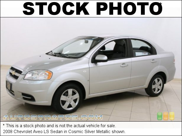 Stock photo for this 2008 Chevrolet Aveo LS Sedan 1.6L DOHC 16 Valve 4 Cylinder 5 Speed Manual