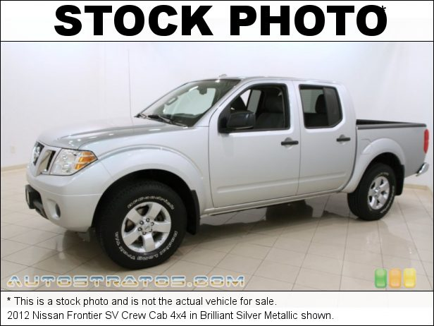 Stock photo for this 2012 Nissan Frontier SV Crew Cab 4x4 4.0 Liter DOHC 24-Valve CVTCS V6 5 Speed Automatic