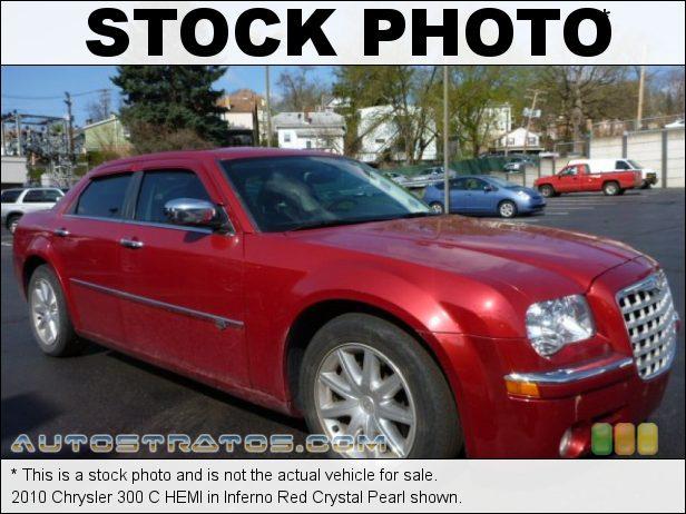 Stock photo for this 2010 Chrysler 300 C HEMI 5.7 Liter HEMI OHV 16-Valve MDS VCT V8 5 Speed AutoStick Automatic