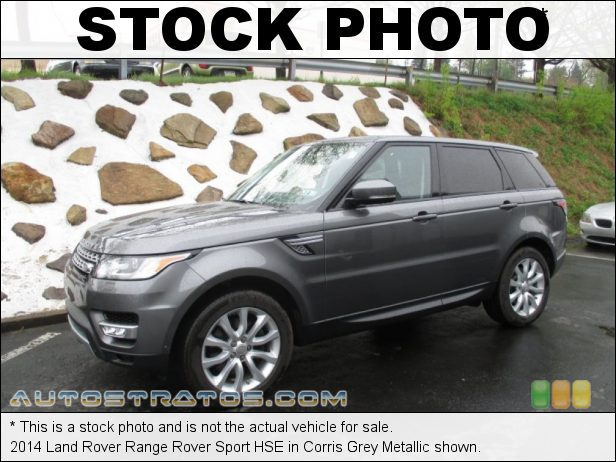 Stock photo for this 2014 Land Rover Range Rover Sport HSE 3.0 Liter Supercharged DOHC 24-Valve VVT V6 8 Speed Commandshift Automatic