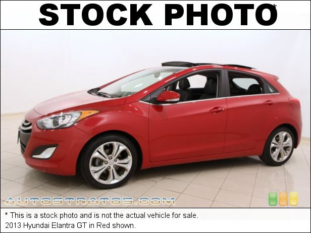 Stock photo for this 2013 Hyundai Elantra GT 1.8 Liter DOHC 16-Valve D-CVVT 4 Cylinder 6 Speed Shiftronic Automatic