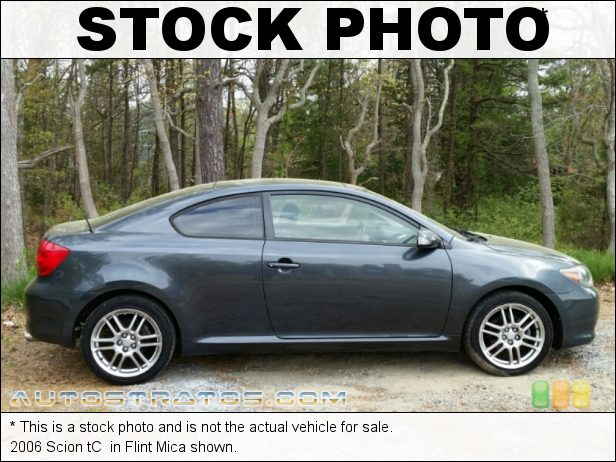 Stock photo for this 2006 Scion tC  2.4L DOHC 16V VVT-i 4 Cylinder 4 Speed Automatic