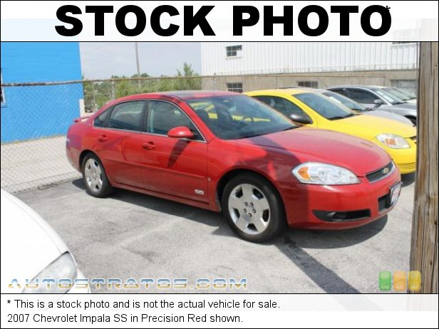 Stock photo for this 2007 Chevrolet Impala SS 5.3 Liter OHV 16 Valve LS4 V8 4 Speed Automatic