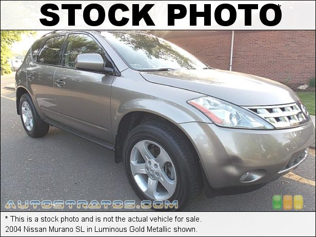 Stock photo for this 2004 Nissan Murano SE 3.5 Liter DOHC 24-Valve V6 CVT Automatic