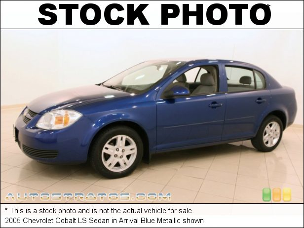 Stock photo for this 2005 Chevrolet Cobalt LS Sedan 2.2L DOHC 16V Ecotec 4 Cylinder 5 Speed Manual