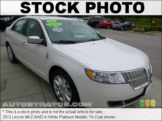 Stock photo for this 2012 Lincoln MKZ AWD 3.5 Liter DOHC 24-Valve iVCT Duratec V6 6 Speed Select Shift Automatic