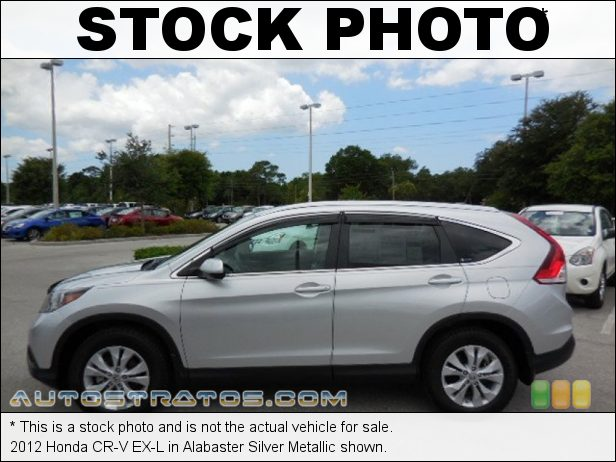 Stock photo for this 2012 Honda CR-V EX-L 2.4 Liter DOHC 16-Valve i-VTEC 4 Cylinder 5 Speed Automatic