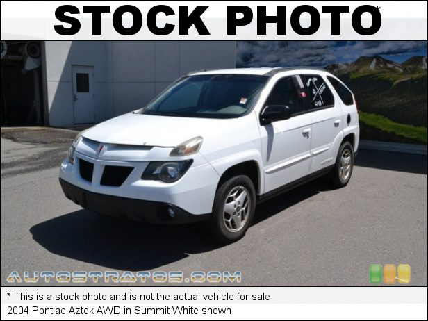 Stock photo for this 2005 Pontiac Aztek AWD 3.4 Liter OHV 12-Valve V6 4 Speed Automatic
