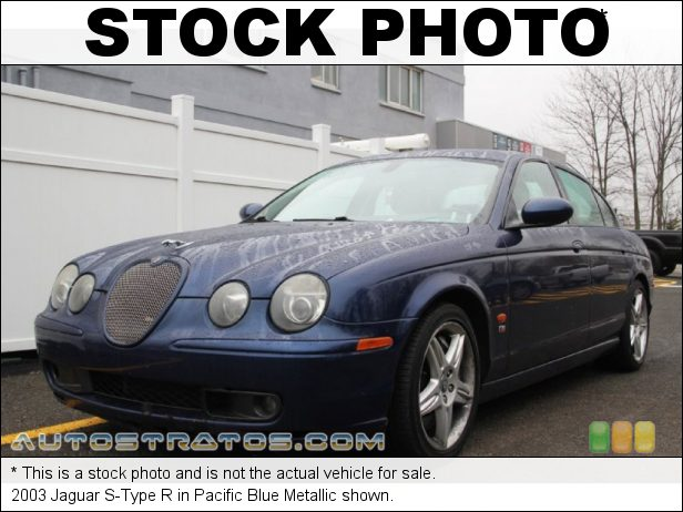 Stock photo for this 2003 Jaguar S-Type  3.0 Liter DOHC 32 Valve V6 6 Speed Automatic