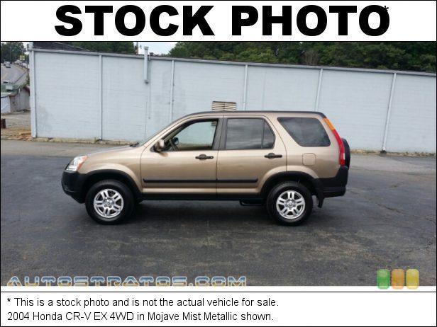 Stock photo for this 2004 Honda CR-V EX 4WD 2.4 Liter DOHC 16-Valve i-VTEC 4 Cylinder 4 Speed Automatic