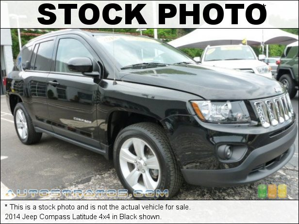 Stock photo for this 2014 Jeep Compass Latitude 4x4 2.4 Liter DOHC 16-Valve Dual VVT 4 Cylinder 6 Speed Automatic