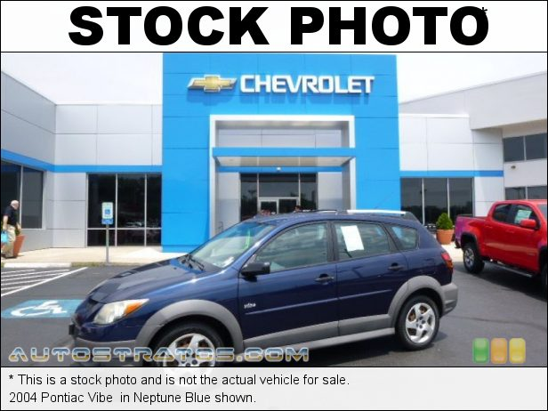 Stock photo for this 2004 Pontiac Vibe  1.8 Liter DOHC 16 Valve VVT-i 4 Cylinder 5 Speed Manual