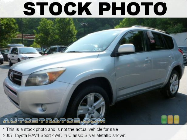 Stock photo for this 2007 Toyota RAV4 Sport 4WD 2.4 Liter DOHC 16-Valve VVT-i 4 Cylinder 4 Speed Automatic